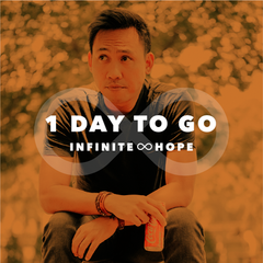infinite hope - countdown 1 day