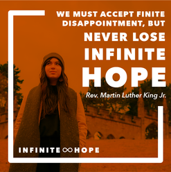 infinite hope - square quote post 1