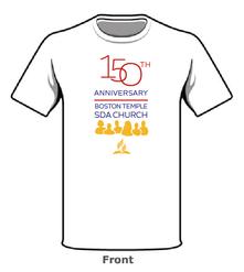 Boston Temple 150th T-shirt