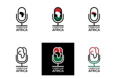 Africa Carrefour logo concepts