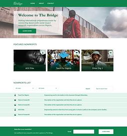Green homepage