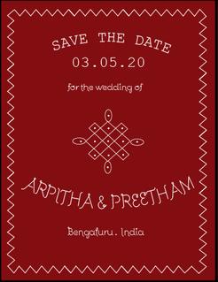 Wedding Invite by Arpitha