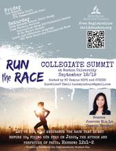 Run the Race Collegiate Summit