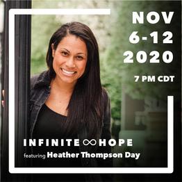 infinite hope - speaker spotlight