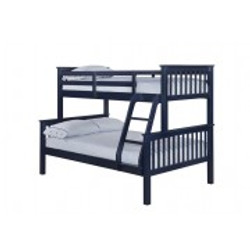 Otto Trio Bunk Bed – Navy Blue