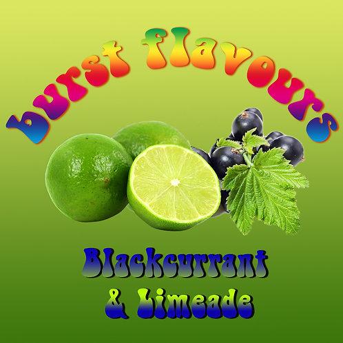 Burst Flavours - Blackcurrant & Limeade