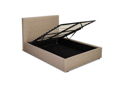 Lucca double hydraulic lift bed