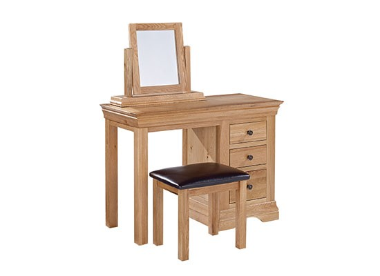 Worthing Dressing Table, Mirror & St