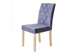 Paris Silver Velvet Chair