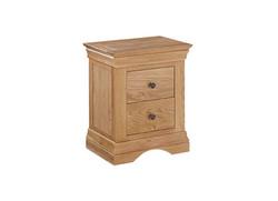 Worthing 2 Drawer Bedside Cabinet