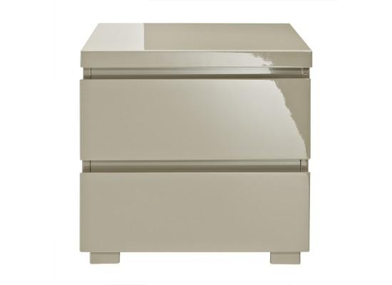 Puro 2 Drawer Bedside Cabinet