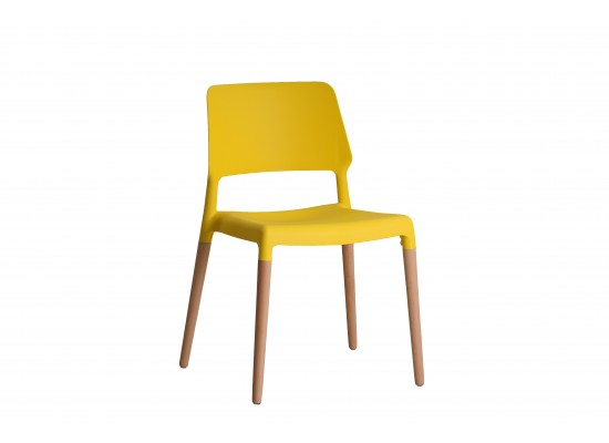 Riva Chair in Yellow
