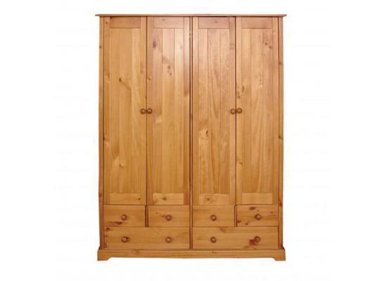 Baltic 3 Door + 3 Drawer Wardrobe