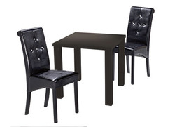 Monroe Small Dining Table – Black