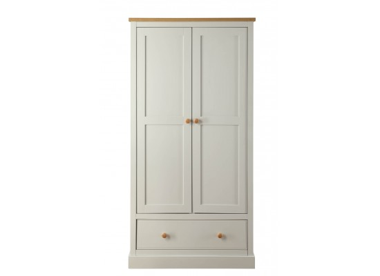 St. Ives 2 Door + 1 Drawer Wardrobe