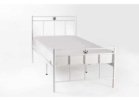 White Soccer Bed