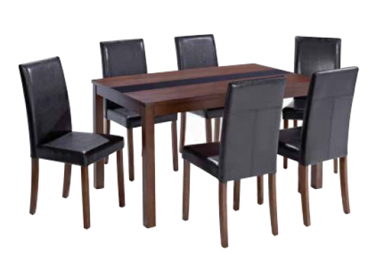 Walnut Ashleigh Large Dining Set