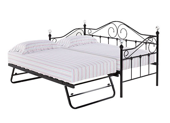 Florence Day Bed Black - Out