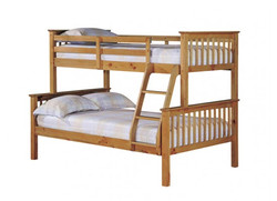 Otto Trio Bunk Bed – Antique Wax