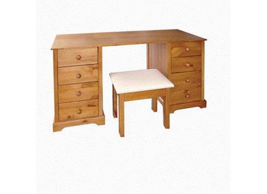 Baltic 8 Drawer Dressing Table and S