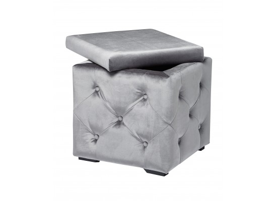 Valentina Storage Box - Silver