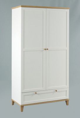 Boston 2 Door Wardrobe + 1 Drawer