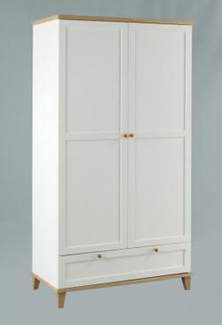Boston 2 Door Wardrobe + 1 Drawer