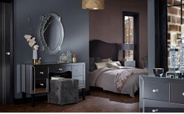 Valentina Mirrored  bedroom