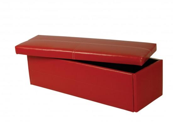 Stanton Ottoman Red – Large