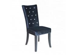 Radiance Black Velvet Chair
