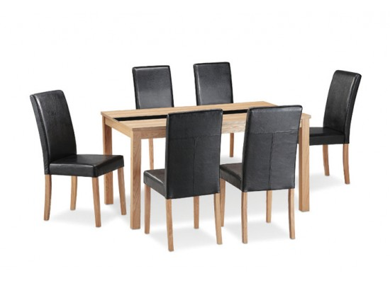 Ashleigh Large Dining Set – Ash