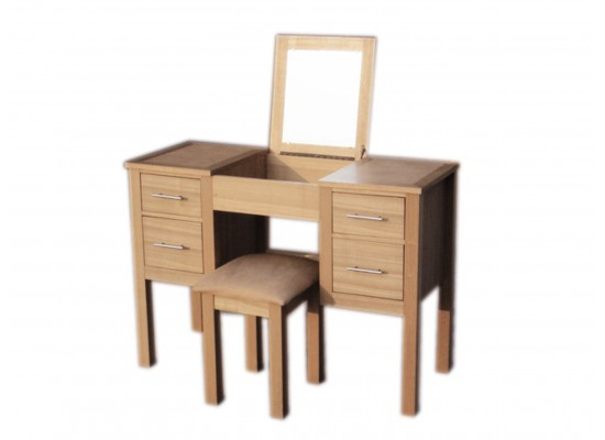 Oakridge Dressing Table + Stool