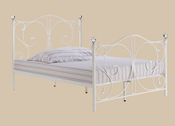 Florence Bed – White