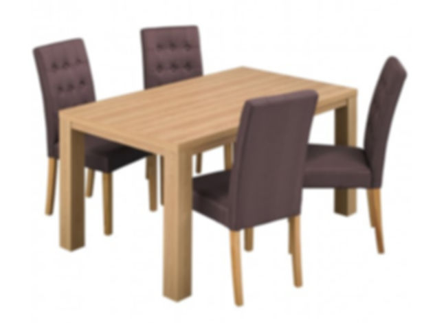 Curve Dining Table And Chairs