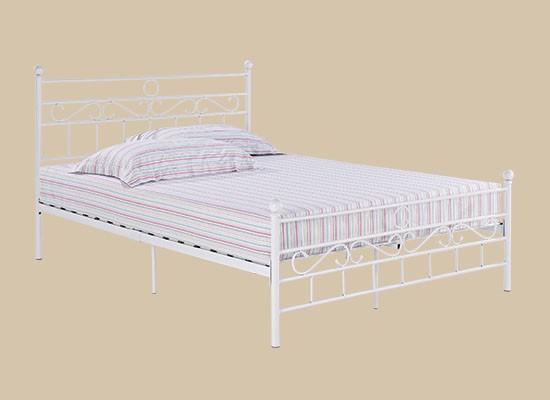 Omega Bed White