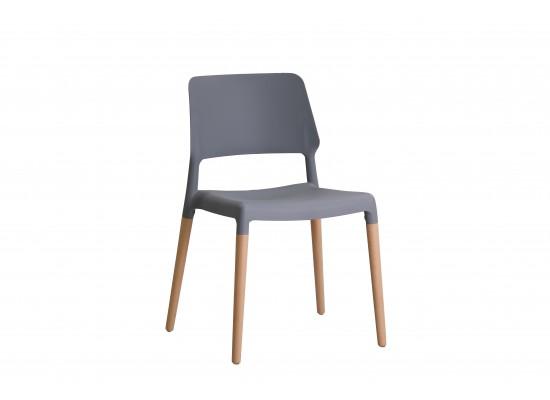 Riva Chair in Grey