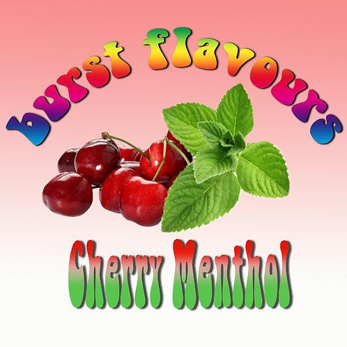 Burst Flavours - Cherry Menthol, Vape.