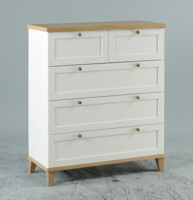 Boston 3 + 2 Drawer Chest