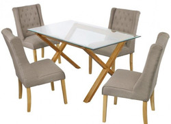 Verona Wing Chair – Beige