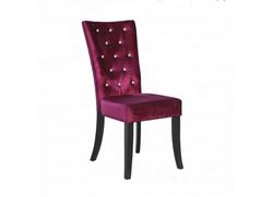 Radiance Purple Velvet Chair