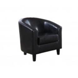 Tub Chair – Black
