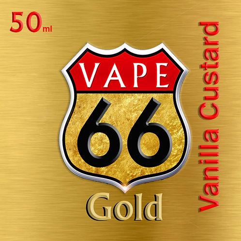 Vape 66 Gold/ Vanilla Custard
