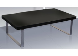 Accent Coffee Table – Black