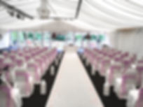 wedding chair and seat covers, sash hire, carpet hire