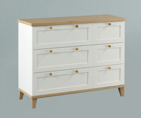 Boston 3 + 3 Drawer Chest