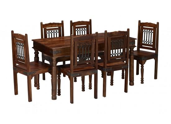 Darjeeling Large Dining Table 4