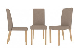 Anna dining chairs in Beige