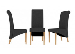 Amelia dining chairs in Grey