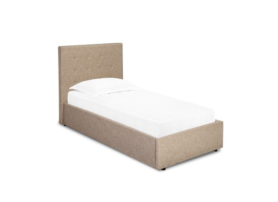 Lucca Single Bed beige