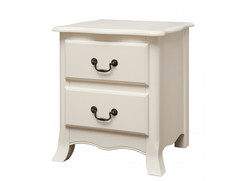 Chantilly 2 drawer bedside cabinet